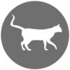 ViPiBaX 2.0 Katze Icon grey